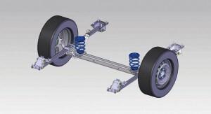 VB-CoilSpring - Axle